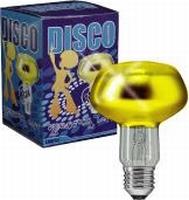 DISCO-PRO SPOT 60W-E27 GEEL