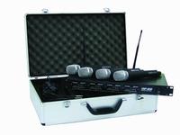 DRAADLOZE UHF400 4x handmicro of 4x zakzender met headset