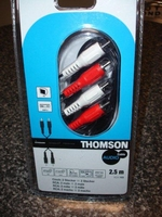THOMSON CINCH STEREO KABEL 2,5M