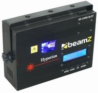 BEAMZ  HYPERION  Animatielaser Blauw DMX SD