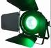 IBIZA 90W RGB COB LEDPAR MET BARNDOORS